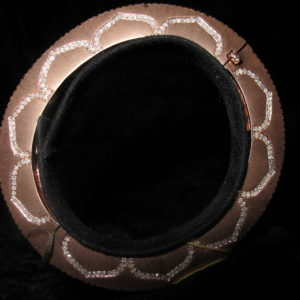 ROSE GOLD HEAVY PLATED BANGLE