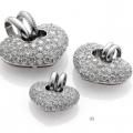 CUORI - PENDANT WITH DIAMONDS