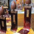 M HINES CANDLE HOLDERS