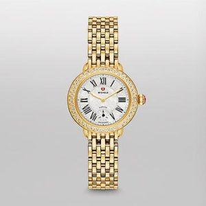 SEREIN 12 DIAMOND GOLD WATCH