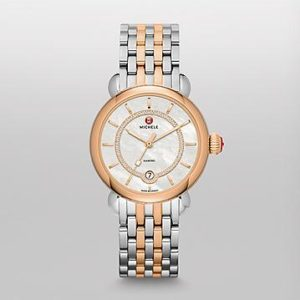CSX ELEGANCE TWO-TONE ROSE GOLD, DIAMOND DIAL WATCH