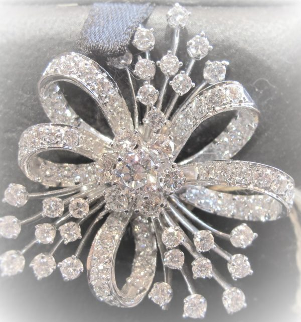 Vintage Diamond Pin