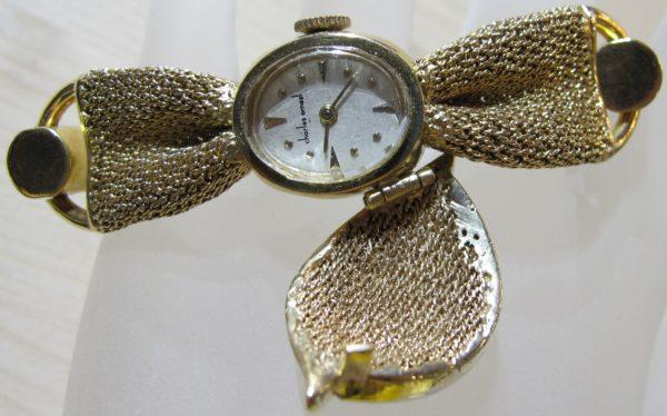 Vintage Baume and Mercier, Charles Ernst 18 KT/14 KT Watch-Bracelet (Pre-Owned)