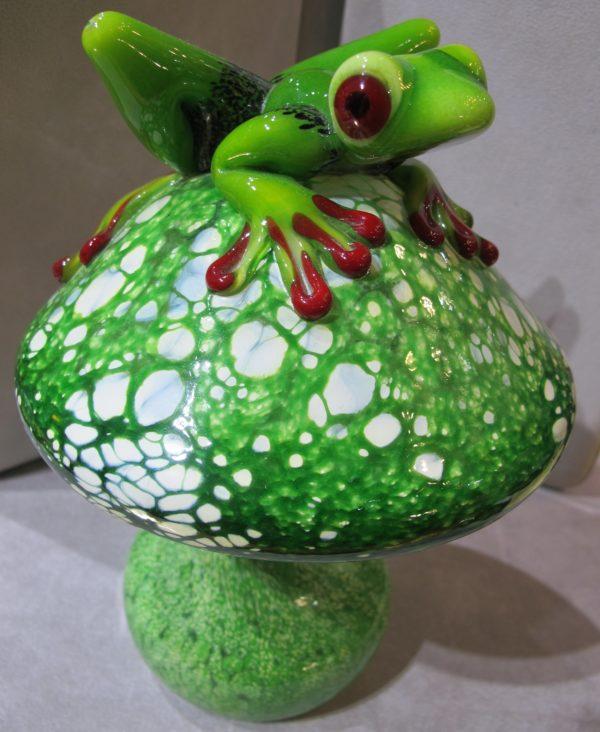Abelman Mushroom With Frog