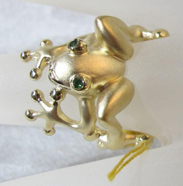 14 KT Yellow Gold Steven Douglas Ring