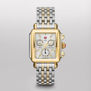 SIGNATURE DECO NON-DIAMOND TWO-TONE MICHELE WATCH