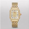 DECO DIAMOND GOLD, PAVE DIAMOND DIAL WATCH