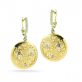 14K GALLERY NET EARRING