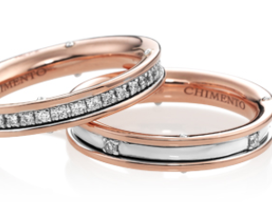 AETERNITAS ROSE GOLD BANDS