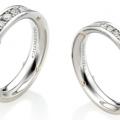 AETERNITAS WHITE & ROSE GOLD RINGS WITH DIAMONDS