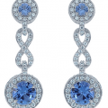 DANIEL K PAVE DROP EARRINGS