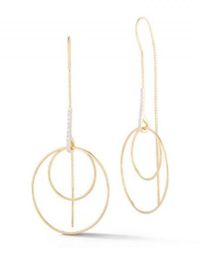 Thread Dangle Earring