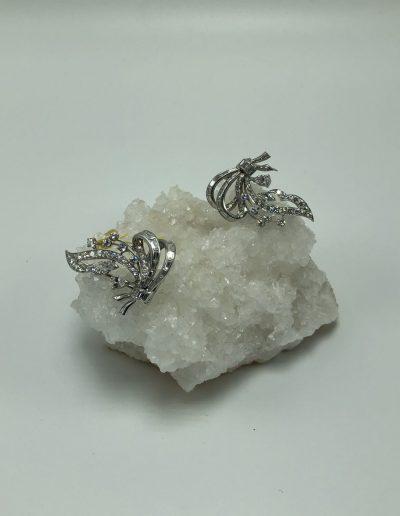 Preowned Diamond Multiple-Wear Style Brooch