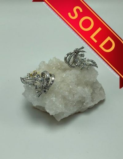 Preowned Diamond Multiple-Wear Style Brooch
