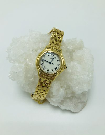 Preowned Ladies Cartier Round Face