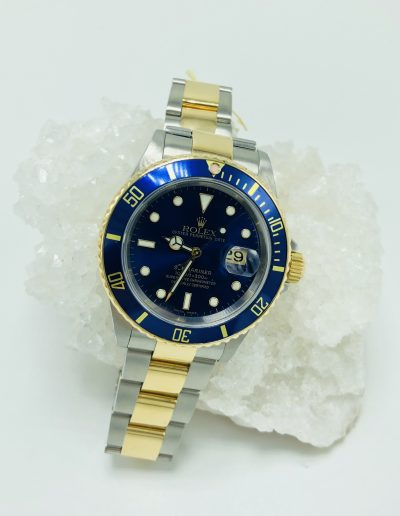 Preowned Rolex Two-Toned Submariner